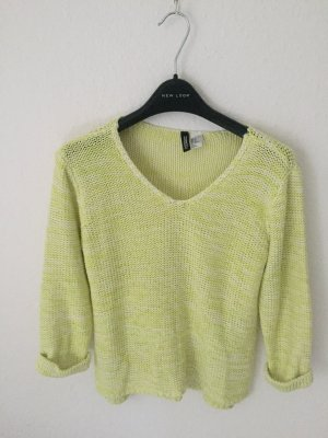 H&M Divided oversized Pullover Neon