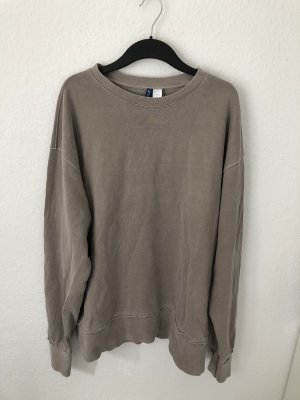 H&M Divided oversized Sweatshirt Taupe