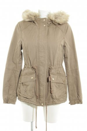 H&M Divided Parka beige-beige claro look casual