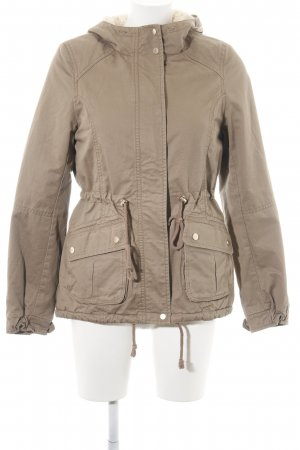 H&M Divided Parka bronzefarben Casual-Look