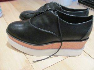 H&M Divided Plateau Platform Platforms Sneaker Halbschuhe Plateauschuhe 40