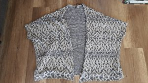 H&M Divided Poncho Cape Knit Strick Cardigan Hippie Boho M