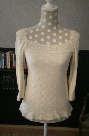 H&M Divided Pullover cremeweiß Gr. 36