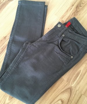 H&M Divided Red Department Low Waist Röhren Jeans XS 34 Slim Fit Ankle Skinny