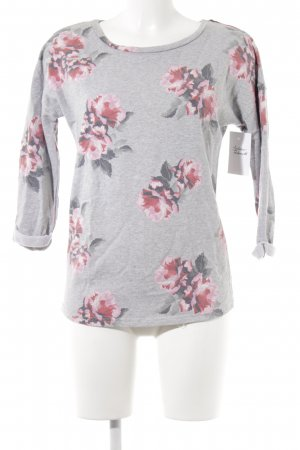 H&M Divided Rundhalspullover florales Muster Casual-Look