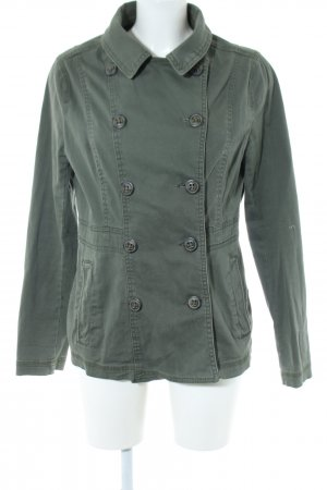 H&M Divided Safarijacke khaki Casual-Look