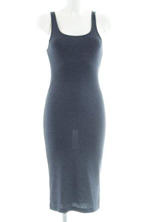 H&M Divided Vestido de tubo azul look casual