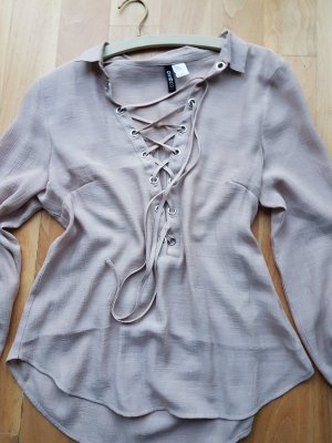 H&M Divided Schnürbluse