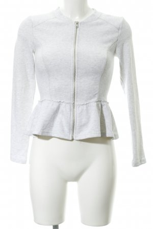 H&M Divided Shirt Jacket light grey casual look