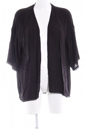 H&M Divided Shirt Jacket black casual look