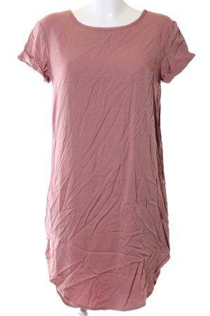 H&M Divided Vestido estilo camisa rosa look casual