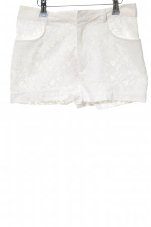 H&M Divided Shorts weiß Casual-Look