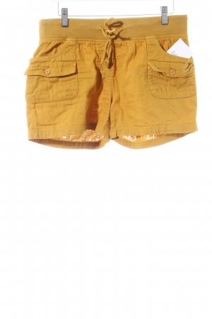 H&M Divided Shorts goldorange sportlicher Stil