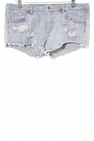 H&M Divided Shorts himmelblau Casual-Look