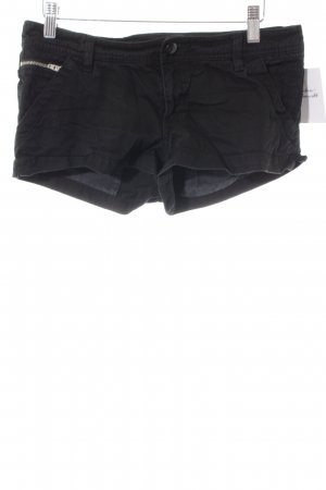 H&M Divided Shorts schwarz Casual-Look