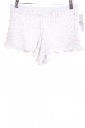 H&M Divided Shorts weiß Beach-Look