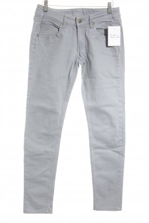 H&M Divided Skinny Jeans grau Casual-Look