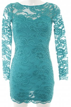 H&M Divided Spitzenkleid kadettblau Elegant