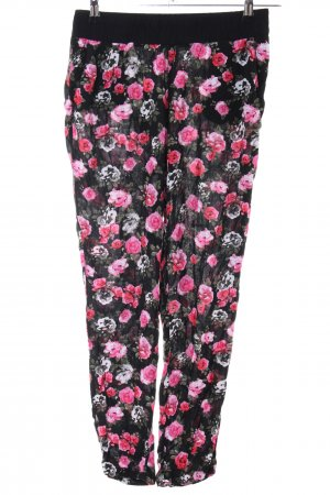 H&M Divided Stoffhose Allover-Druck Casual-Look