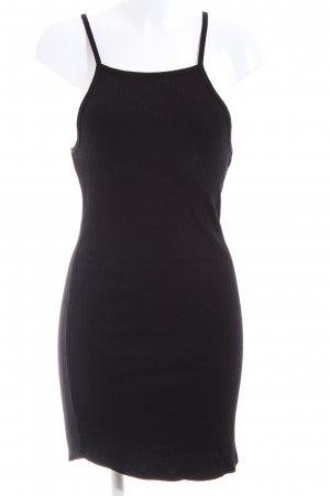 H&M Divided Stretch Dress black casual look