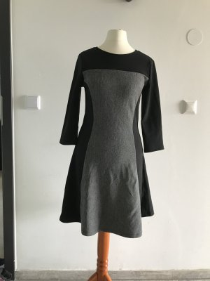 H&M Divided Hooded Dress black-grey