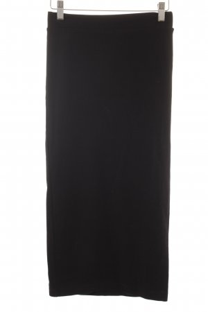 H&M Divided Stretchrock schwarz Urban-Look