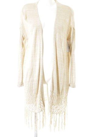 H&M Divided Strick Cardigan beige klassischer Stil