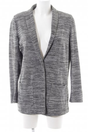 H&M Divided Knitted Blazer light grey flecked business style