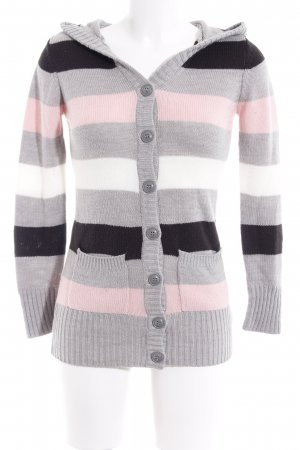 H&M Divided Strickjacke Streifenmuster Casual-Look
