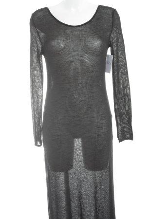 H&M Divided Robe en maille tricotées noir style classique