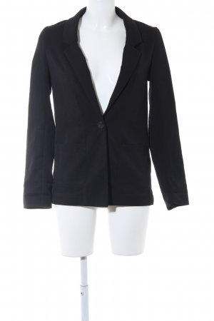 H&M Divided Sweatblazer schwarz Business-Look