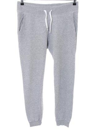 H&M Divided Pantalone fitness grigio chiaro puntinato stile semplice