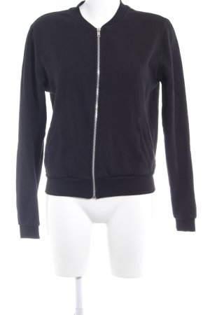 H&M Divided Sweatjacke schwarz Casual-Look