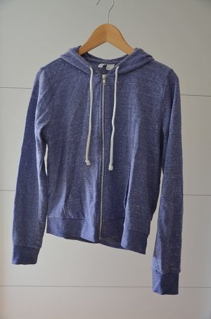 H&M Divided Sweatshirt Jacke Blau/Lila Gr. M 38