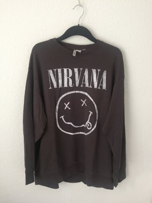 H&M Divided Sweat Shirt grey-anthracite