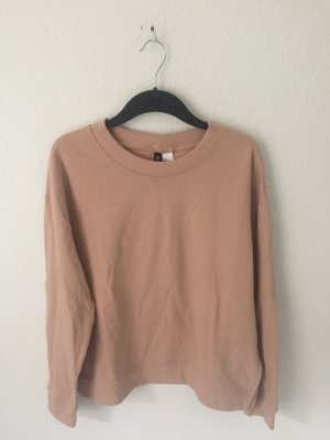 H&M Divided Sweatshirt Nude Rosa