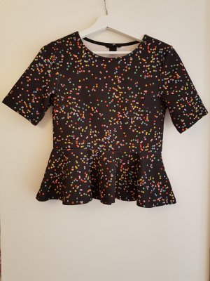 H&M Divided T-Shirt Konfetti Muster