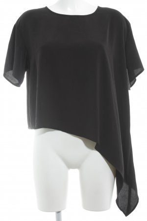 H&M Divided T-Shirt schwarz Casual-Look