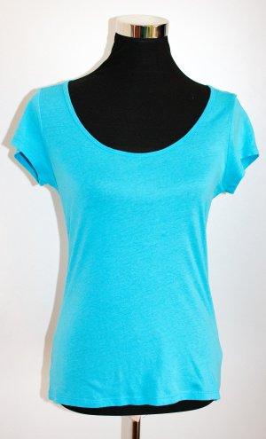 H&M DIVIDED T-Shirt Türkis, ungetragen, Gr.38, wie S oder 36/38