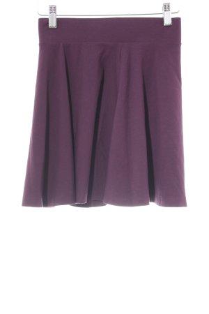 H&M Divided Falda circular rojo zarzamora estilo romántico