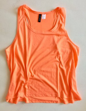 H&M Divided Top in neonorange