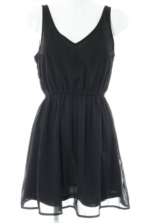 H&M Divided Trägerkleid schwarz Elegant