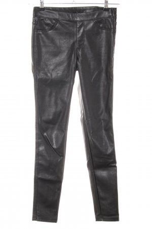 H&M Divided Treggings schwarz extravaganter Stil
