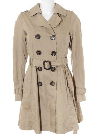 H&M Divided Trenchcoat beige klassieke stijl