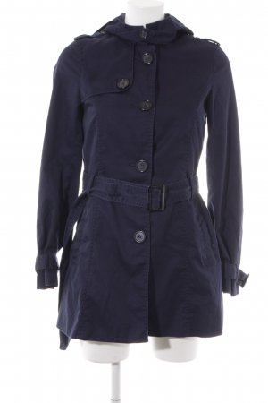 H&M Divided Trenchcoat dunkelblau Casual-Look