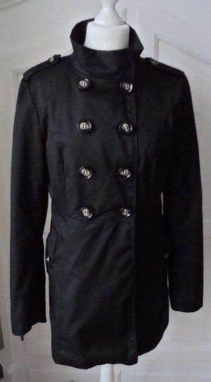 H&M Divided Trenchcoat Gr. 42 Schwarz nur 1 x getragen
