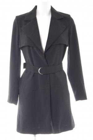 H&M Divided Trenchcoat schwarz Casual-Look