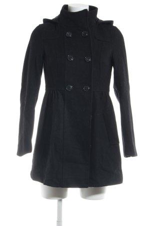 H&M Divided Trenchcoat schwarz Elegant