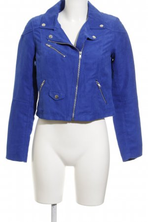 H&M Divided Übergangsjacke blau sportlicher Stil
