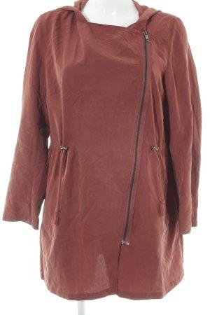 H&M Divided Übergangsjacke braunrot schlichter Stil